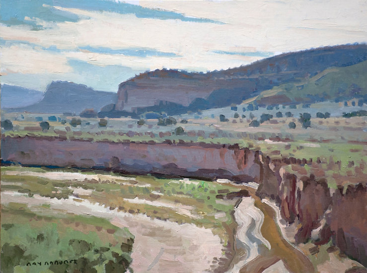 West of Gallup - 12in x 16in