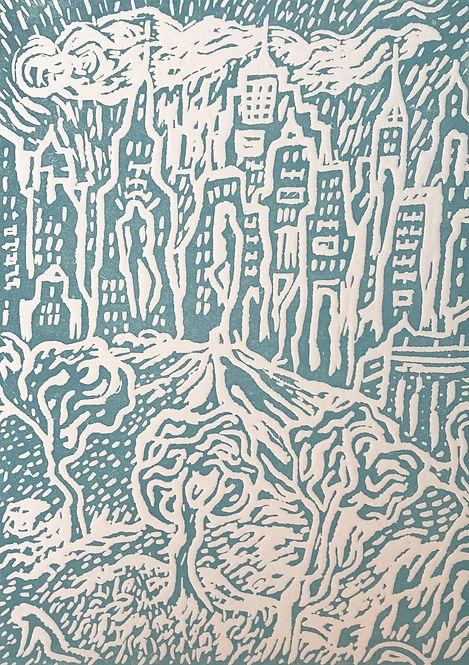 David+Sandum+New+York+Adventure+Turquois