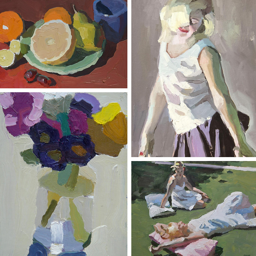 Peggi Kroll Roberts: Painting the Still Life & Figure in Any Media