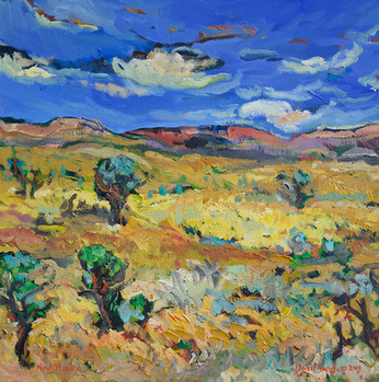 New Mexico, Oil painting by David Sandum