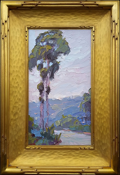 """""""STANDING TALL"""" - SOLD - Oil painting by Carole Gray-Weihman - Frame by Hackman Frames"""