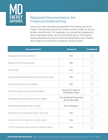 2019 Required Documentation for Financia