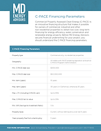 2019 C-PACE Financing Parameters_Page 1.