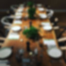 Corporate events including sustainable supper clubs in London.