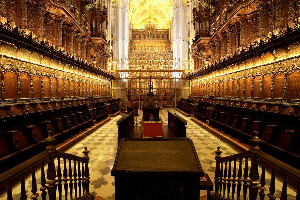Capilla Mayor - Catedral de Sevilha - Espanha