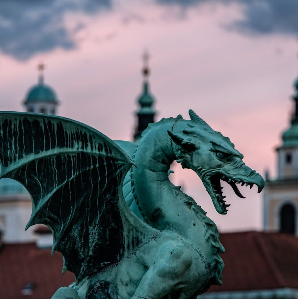 Zmajski most - Liubliana