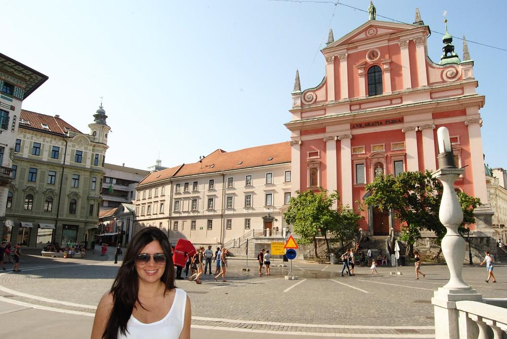 Igreja Franciscana da Anunciação - Liubliana