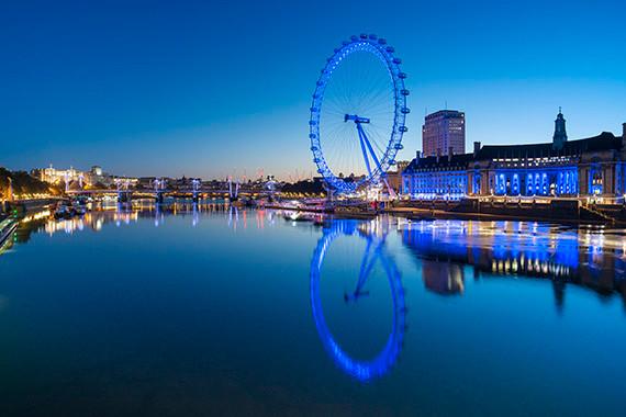 London Eye - a roda gigante de Londres