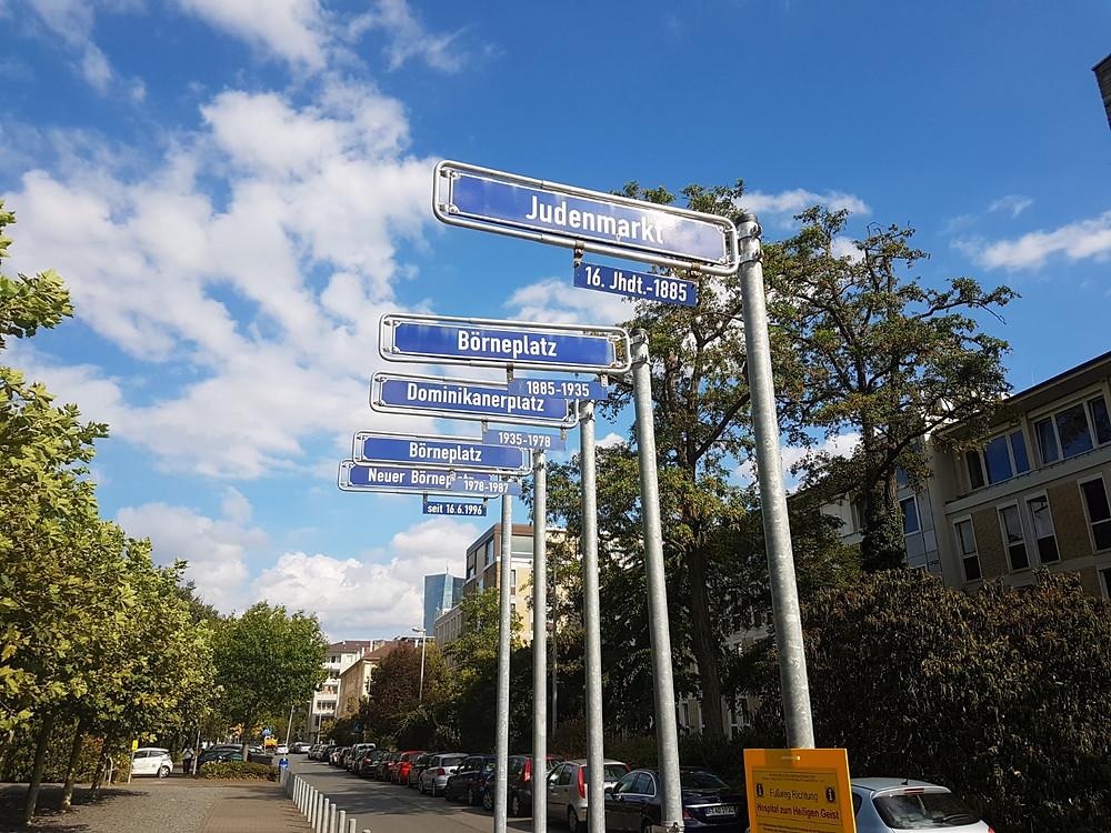 Börneplatz - Frankfurt