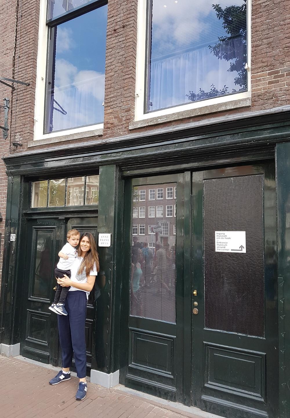Casa de Anne Frank Amsterdam