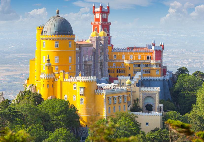 Palácio da Pena - o exuberante palácio de Sintra