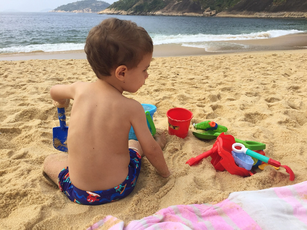 Rio de Janeiro com crianças - Praia Vermelha - Urca