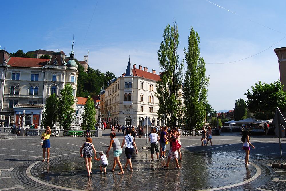 Praça Preseren - Liubliana