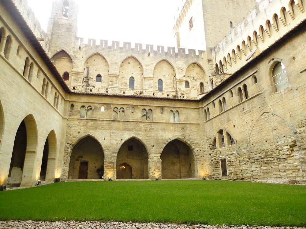 Palácio de Avignon - Palácio do papa