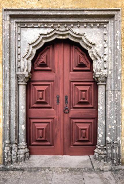 Porta da Família Real - Palácio da Pena - Sintra - Portugal