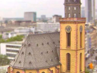 St. Katharinen - A igreja protestante de Santa Catarina em Frankfurt
