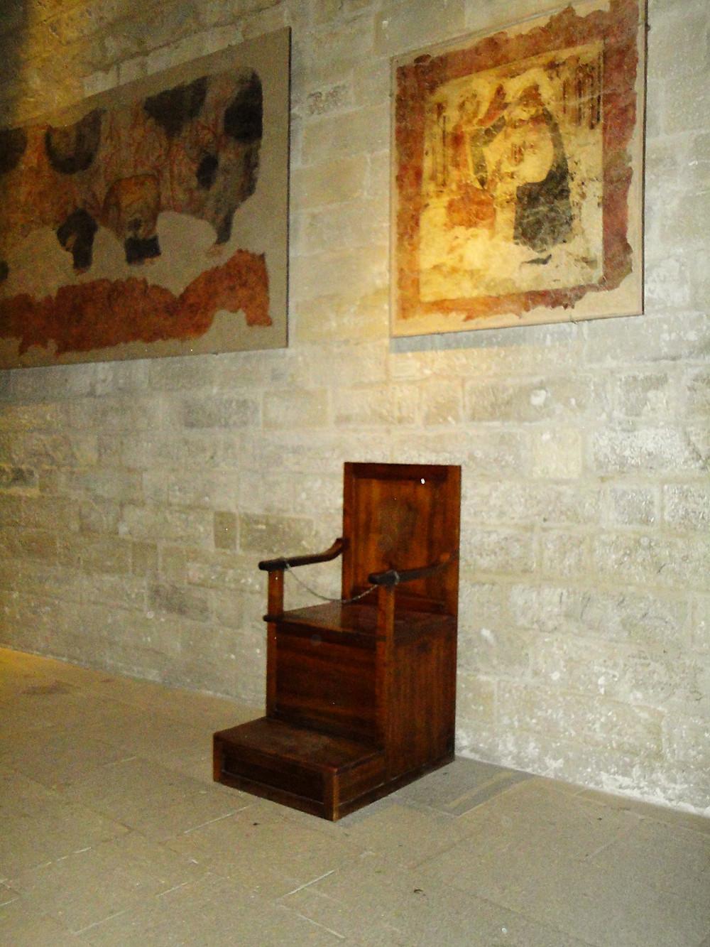 Palácio de Avignon - Palácio do papa - interior