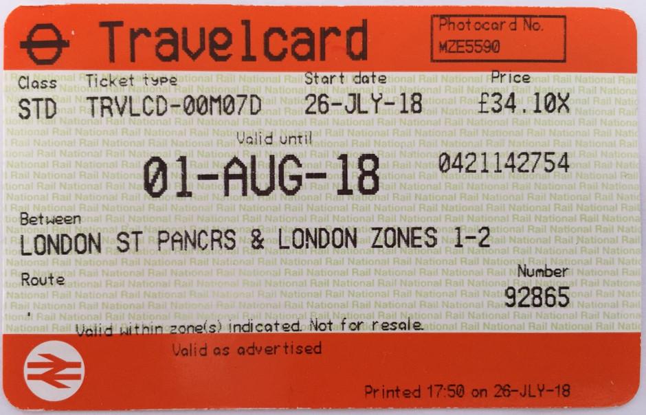 Travelcard - 2 por 1 da National Rail em Londres