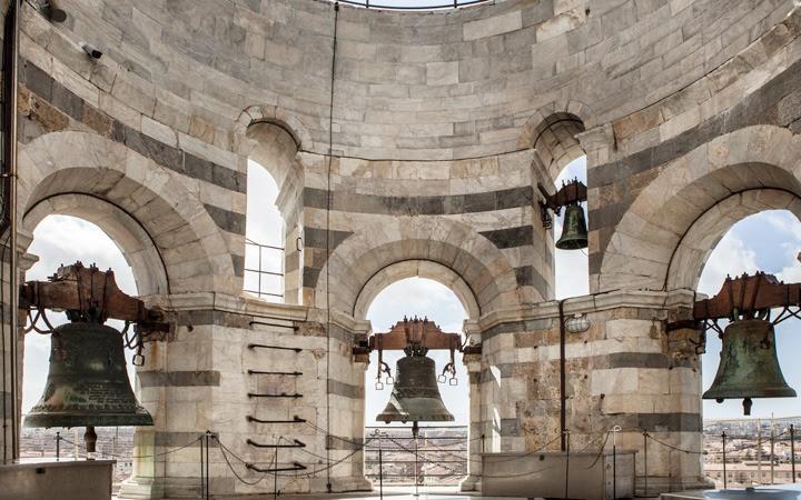 Sinos da Torre de Pisa - sino-câmara