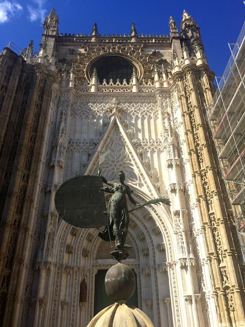 Puerta de San Cristobal - Catedral de Sevilha - Espanha