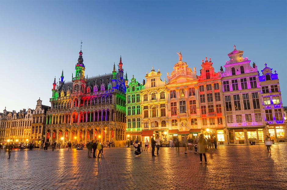 Grote Markt - a Grande Praça de Bruxelas
