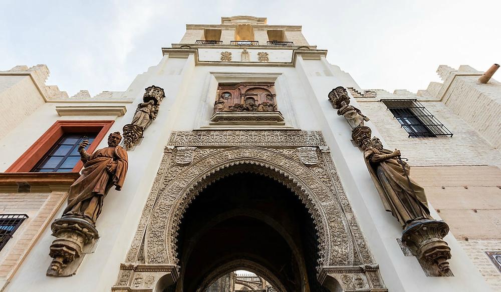 Puerta del Perdón - Catedral de Sevilha - Espanha