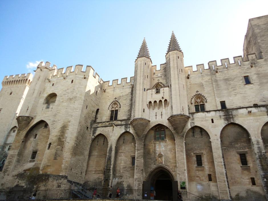Palais des Papes - o palácio de Avignon
