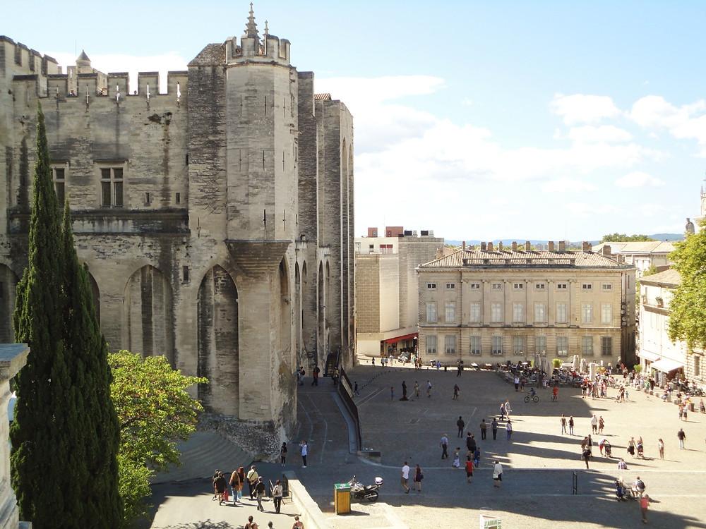 Praça Palácio Avignon