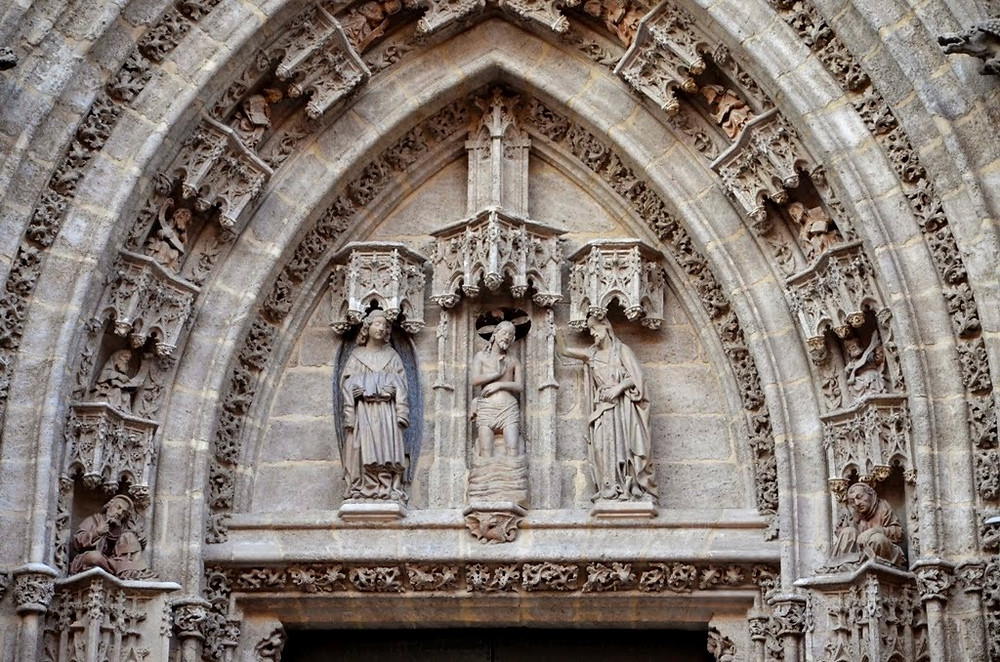 Puerta del Bautismo - Catedral de Sevilha - Espanha