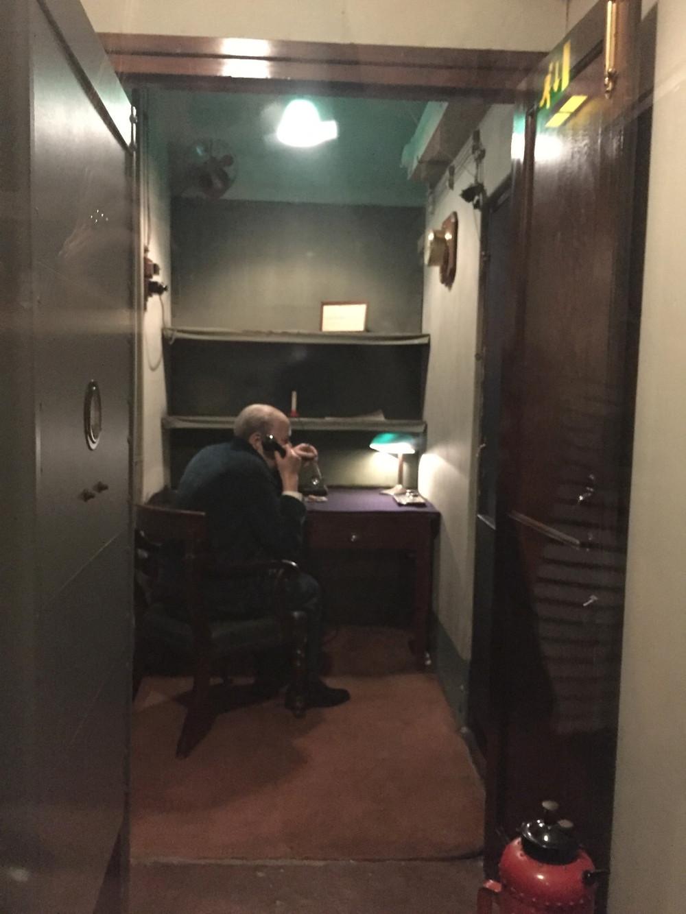 Sala Telefônica Transatlântica - Churchill war rooms