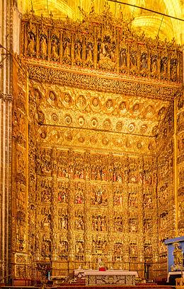 Retablo Mayor - Catedral de Sevilha - Espanha
