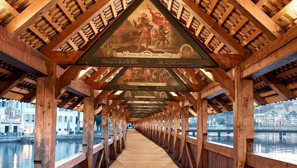Kapellbrücke - Lucerna - Suíça