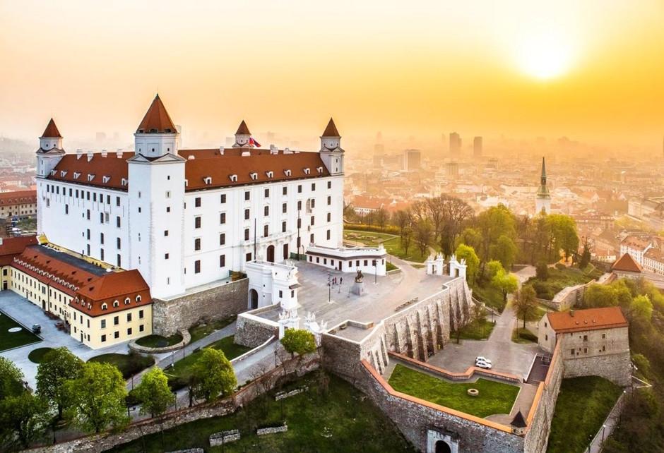 Bratislava - a capital eslovaca