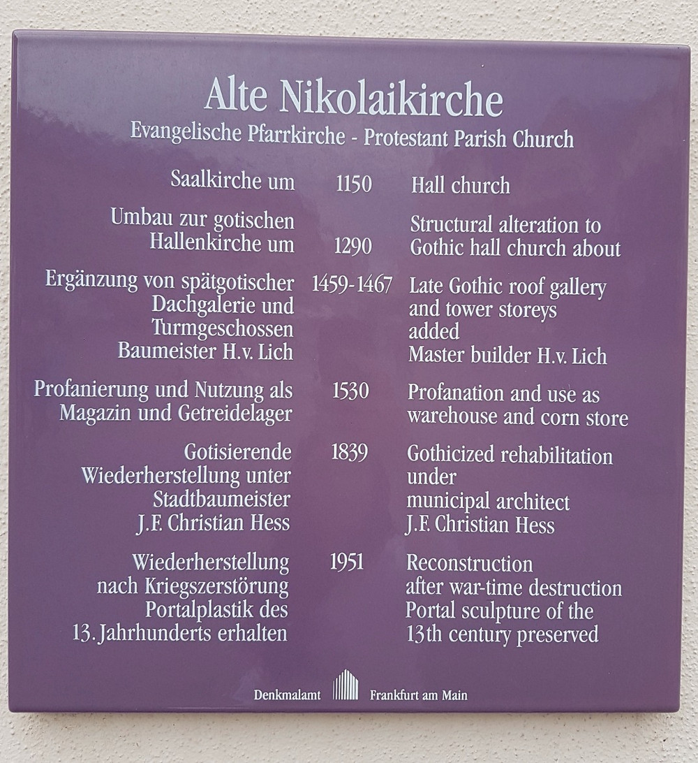 Alte Nikolaikirche - Frankfurt
