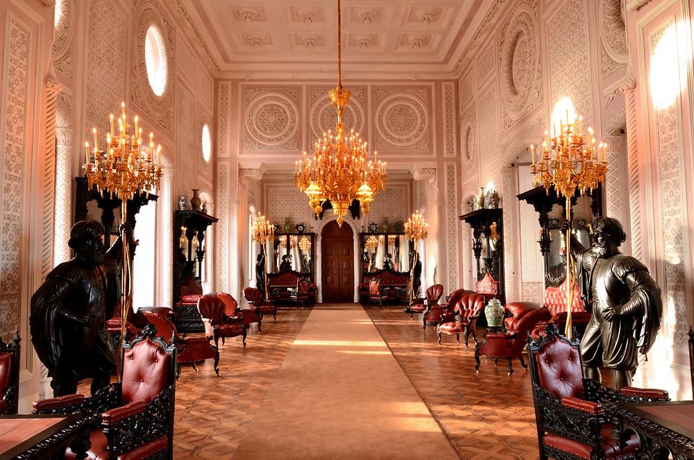 Salão Nobre - Palácio da Pena - Sintra - Portugal