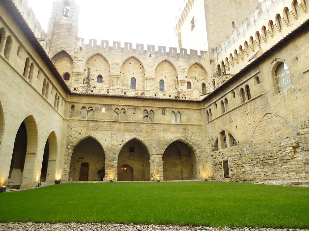 Grande Pátio - Palais des Papes - Avignon
