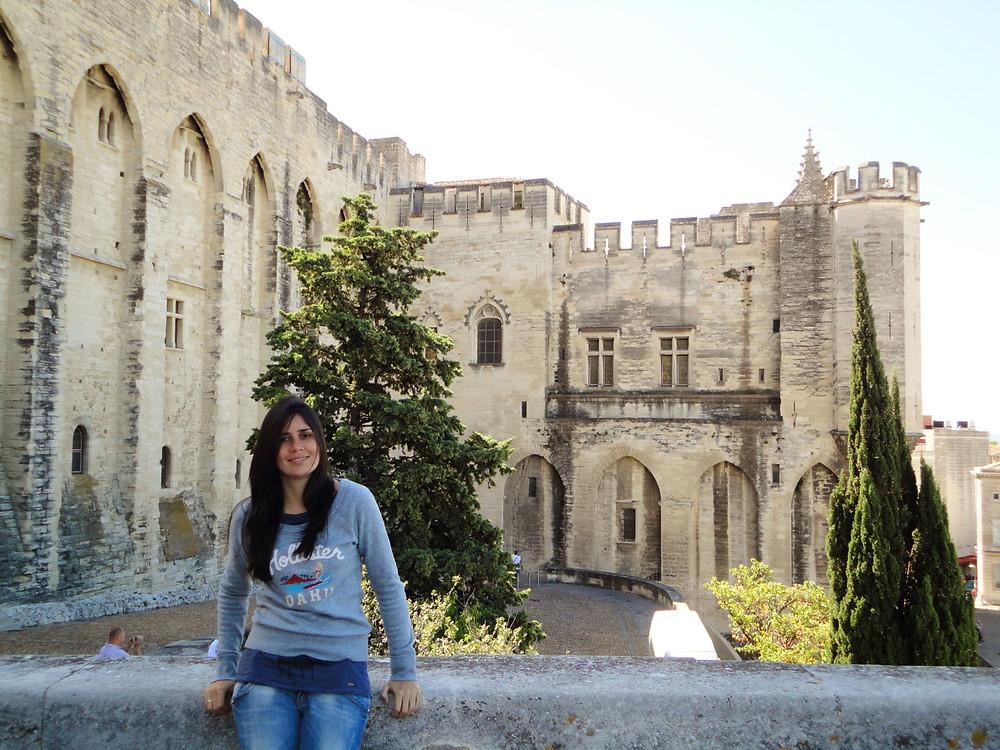 Muralhas Avignon - Palácio