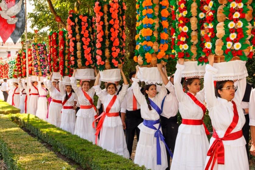 Festa dos Tabuleiros - Tomar - Portugal