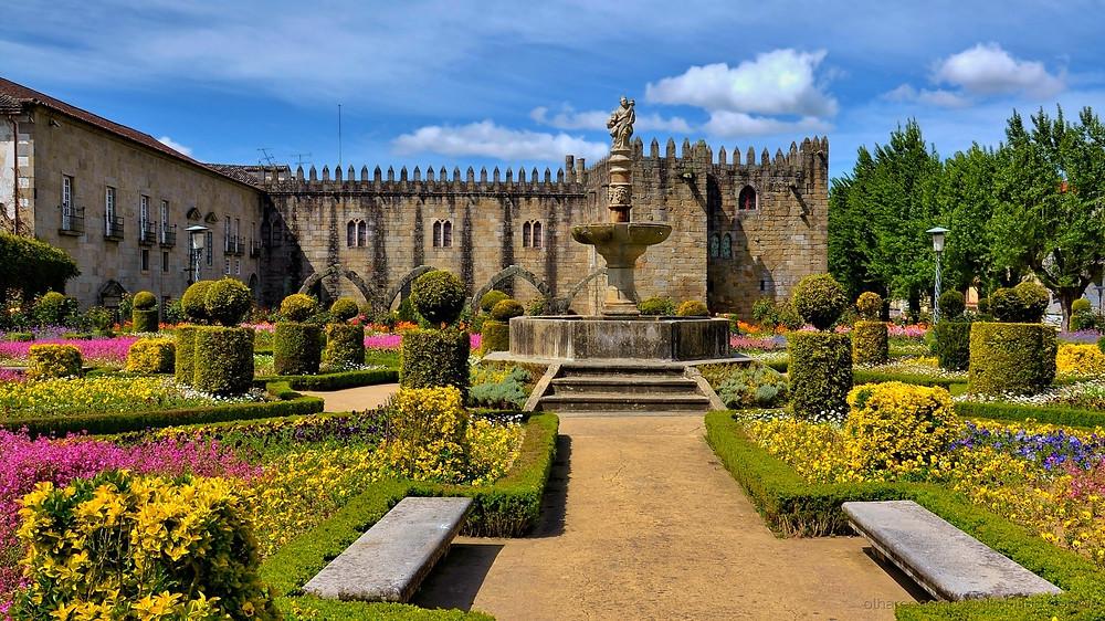 Jardim de Santa Bárbara - Braga - Portugal