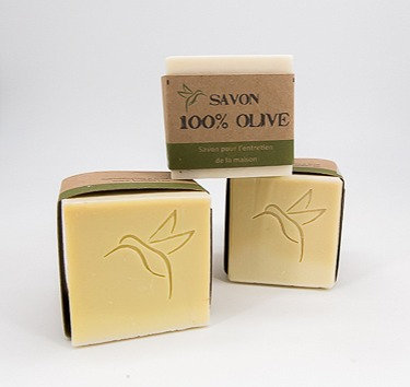 Bloc de savon 100% olive