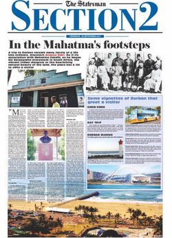 In the Mahatma's Footsteps