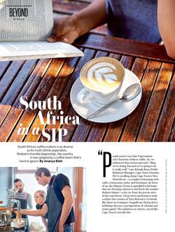 South Africa in a Sip