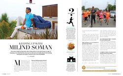 Interview with Milind Soman