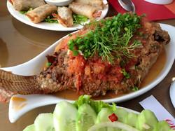 Steamed Fish, Hanoi