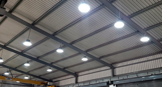 Energy Efficient Lighting for a commercial customer
