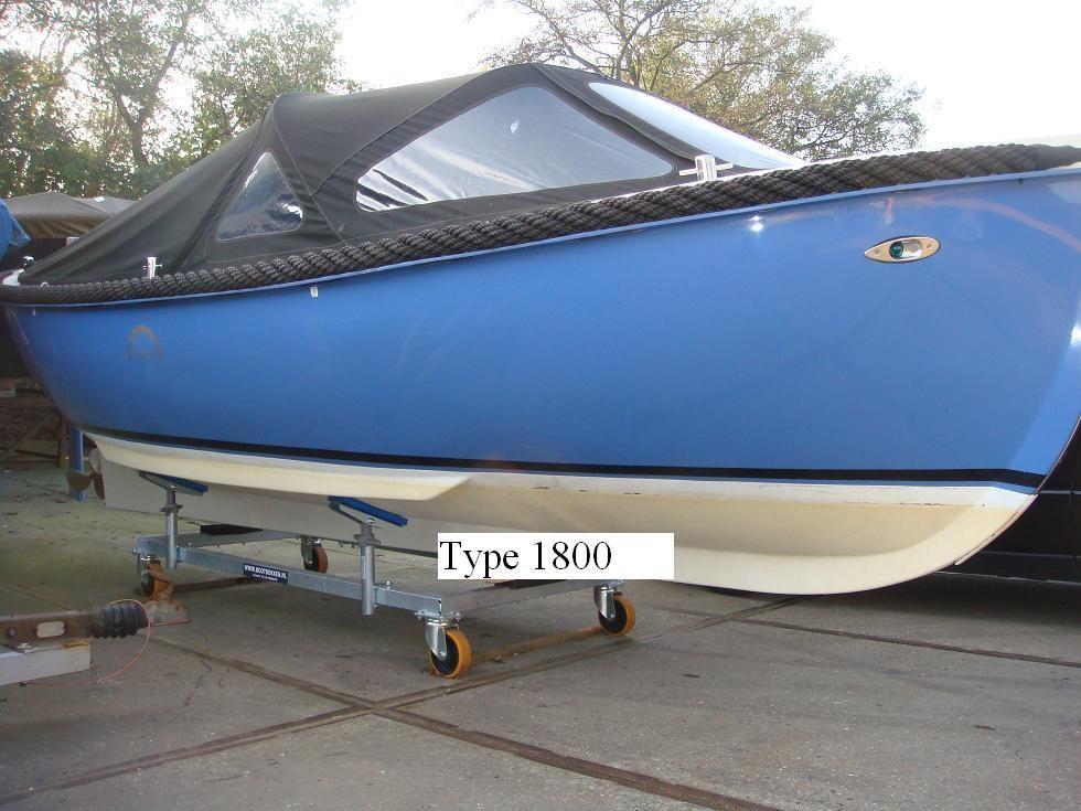 Verrijdbare Bootbok Type 1800