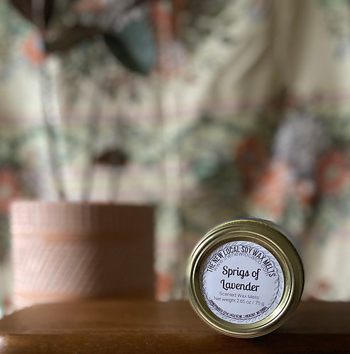 Sprigs of Lavender 2.65 oz Wax Melts Jar