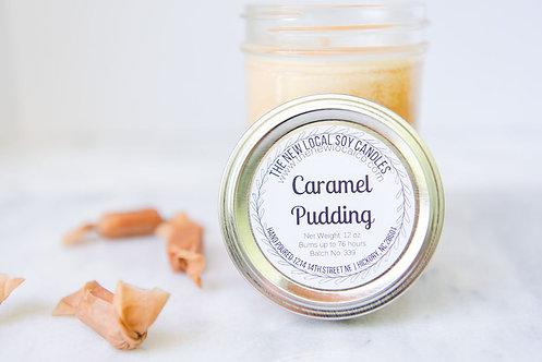 Caramel Pudding 12 oz Candle