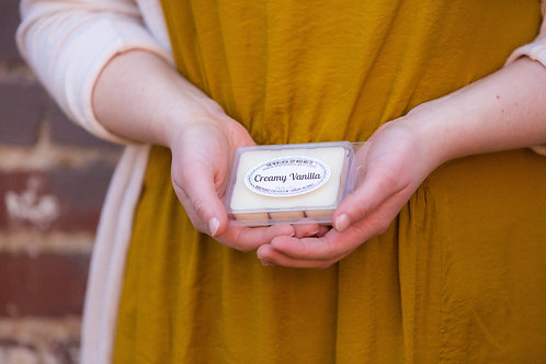 Creamy Vanilla 2.5 oz Wax Melt Pack