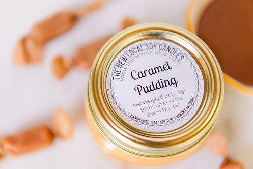 Caramel Pudding 6 oz Candle